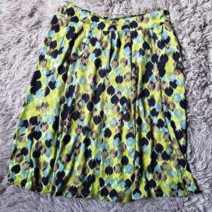 Lily skirt green blue GH